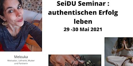 SeiDU - authentischer Erfolg als Coach Tickets