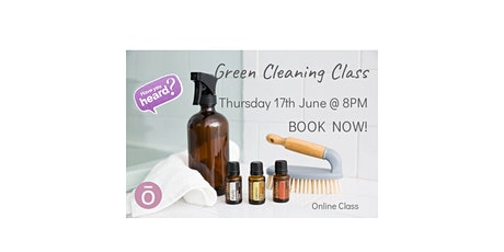 Green Cleaning with dōTERRA Essential Oils tickets
