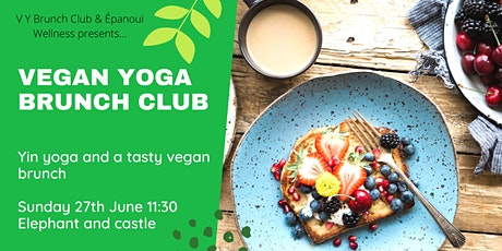 Vegan Yoga Brunch Club - rooftop london tickets