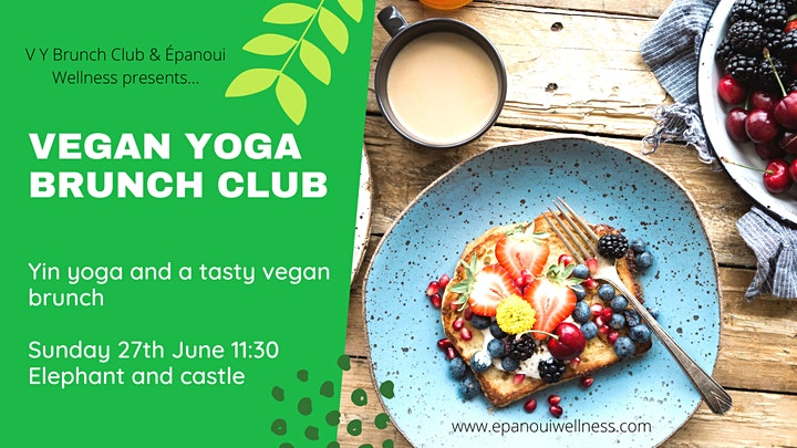 Vegan Yoga Brunch Club - rooftop london image
