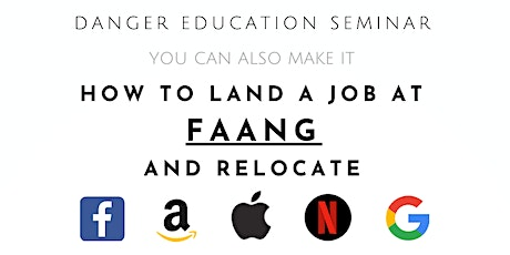 How to Land a Job at FAANG and relocate tickets