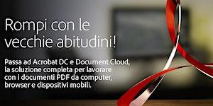 SEMINARIO ADOBE ACROBAT DOCUMENT CLOUD - TORINO