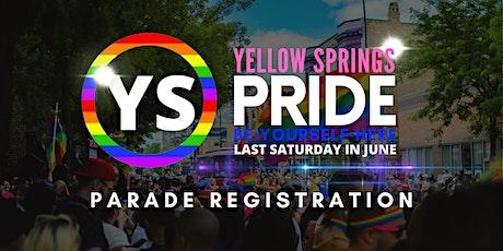 YS Pride Parade tickets