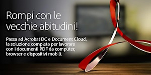 SEMINARIO ADOBE ACROBAT DOCUMENT CLOUD - MILANO