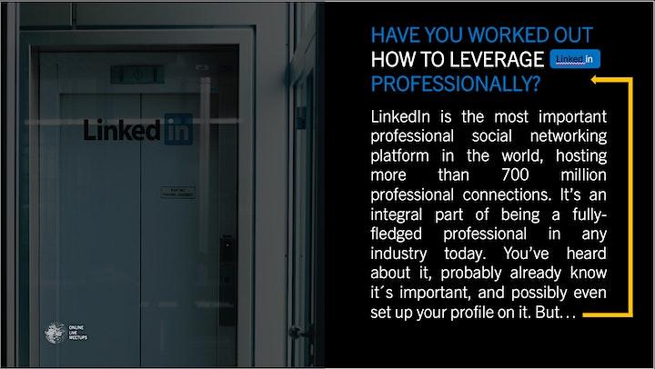 LinkedIn Masterclass 2021: Bild