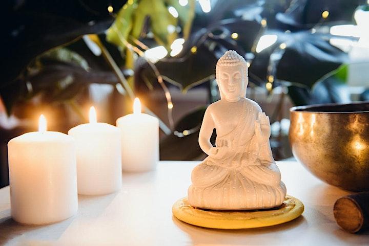 Sound Healing Journey,  Gong Bath (Full Moon 'Black Moon') image