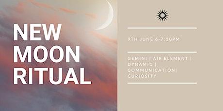 Gemini New Moon Ceremony tickets