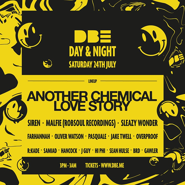 DBE: Day&Night Party / Another Chemical Love Story (UK Debut) image