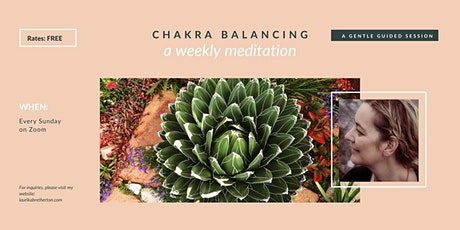 Guided Chakra Balancing Meditation tickets