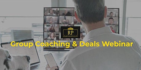 Group Coaching and Deals Webinar tickets