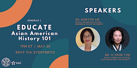 EDUCATE:  Asian American History 101 tickets