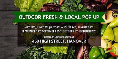 Outdoor Fresh & Local Pop Up tickets