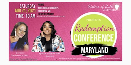 Redemption Conference 2021: Maryland tickets