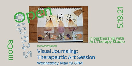Open Studio: Visual Journaling Therapeutic Art Session tickets