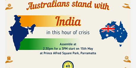 Australians Stands With Bharat (India) tickets