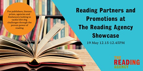 Reading Partners & Promotions at The Reading Agency – Showcase tickets