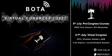 BOTA Congress 2021: Medical Student Course (In-Person) tickets