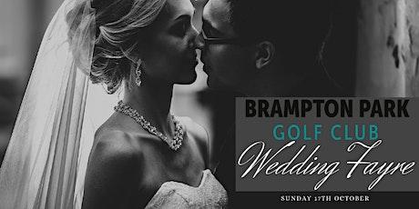 Brampton Park Golf Club Wedding Fayre tickets
