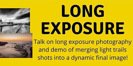 PHOTOGRAPHY TALK: Long exposures, with Joe Houghton tickets