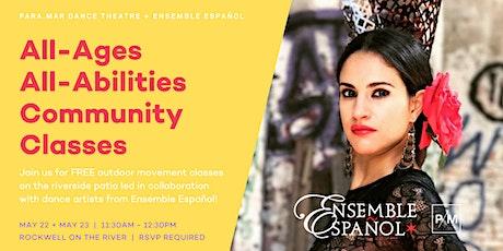 FREE Community Classes | PARA.MAR Dance Theatre + Ensemble Español tickets