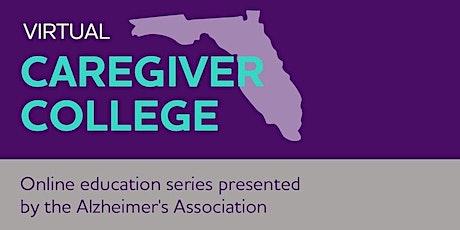 Virtual Caregiver College - Dementia Conversations. tickets