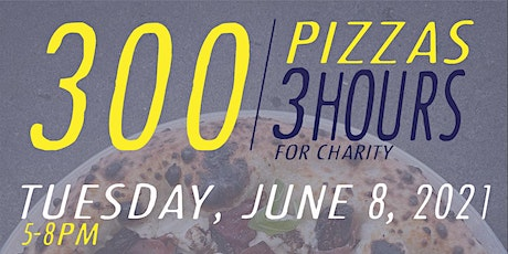 300 in 3 (Pizza Fundraiser For SCAAP) tickets
