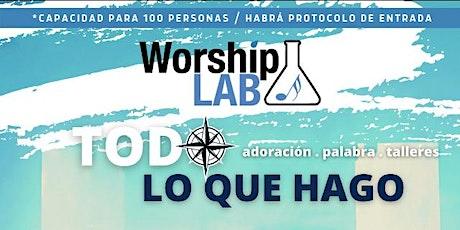 WorshipLab - Todo lo que Hago tickets