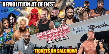 "SWE FURY TV ""DEMOLITION AT DEEN'S"" TELEVISION TAPINGS tickets"