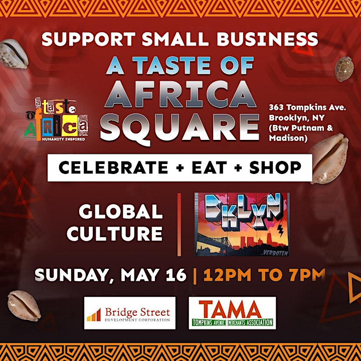 """A Taste of Africa Square - """"A Global Cultural Event"""" image"""