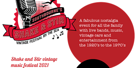 Shake & Stir Vintage Music Festival 2021 - Saturday & Sunday tickets tickets