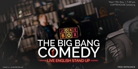 The Big Bang Comedy | English Stand Up Tickets
