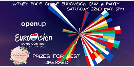 Witney Pride Eurovision Quiz and Online Party Saturday 22nd May 6pm tickets