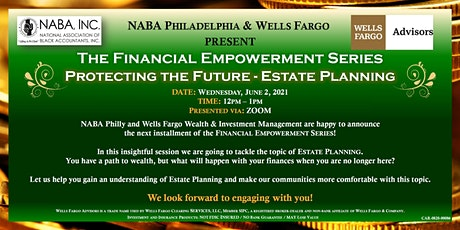 The Financial Empowerment Series: Estate Planning tickets