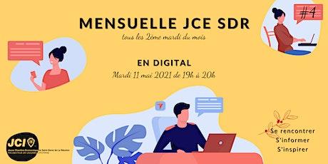Mensuelle JCE Saint-Denis de la Réunion 2021 tickets