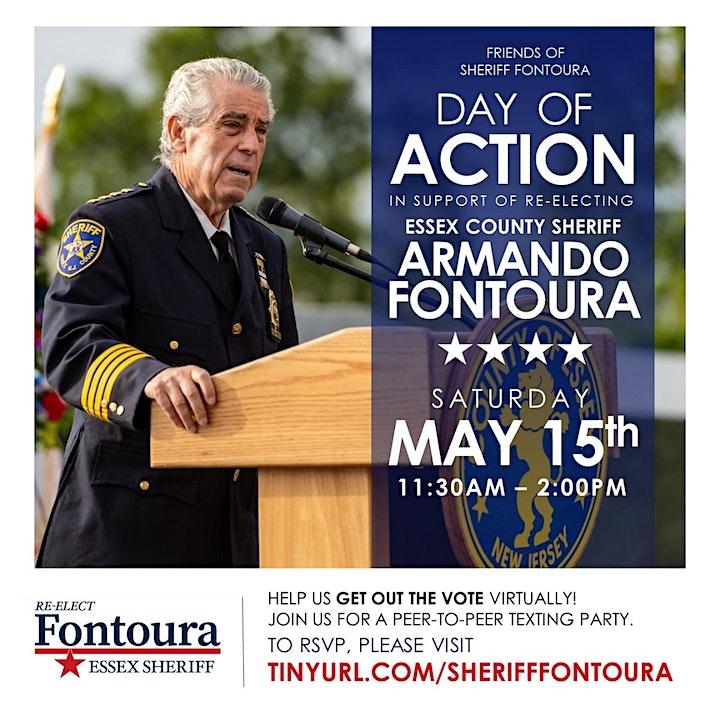 FRIENDS OF SHERIFF ARMANDO FONTOURA DAY OF ACTION image