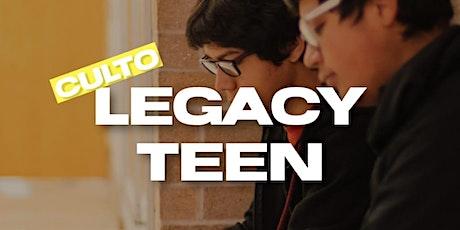 Cópia de Cópia de Culto Legacy Teen - 19:30hs ingressos
