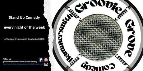 Hammersmith Groovie Grove Comedy - Mondays tickets