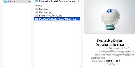 Maintaining Digital Documentation with Hilary Wang tickets