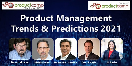 Product Management Trends & Predictions 2021 tickets
