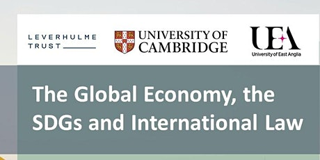 The Global Economy, the SDGs and International Law tickets
