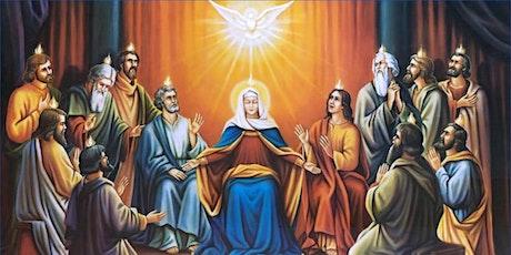 Book Online: Saturday Vigil Mass for Pentecost Sunday tickets