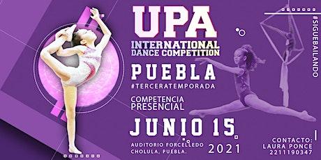 UPA PUEBLA 2021  #TERCERATEMPORADA boletos