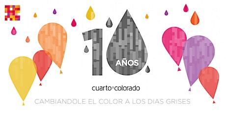 CUARTO COLORADO  - 10 AÑOS entradas
