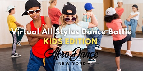 FREE  Virtual All Styles Kids Dance Battle hosted by AfroDance New York biglietti