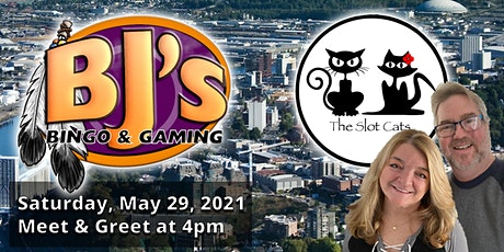 Fife, Washington - BJ's Bingo & Gaming Meet & Greet with the Slot Cats tickets