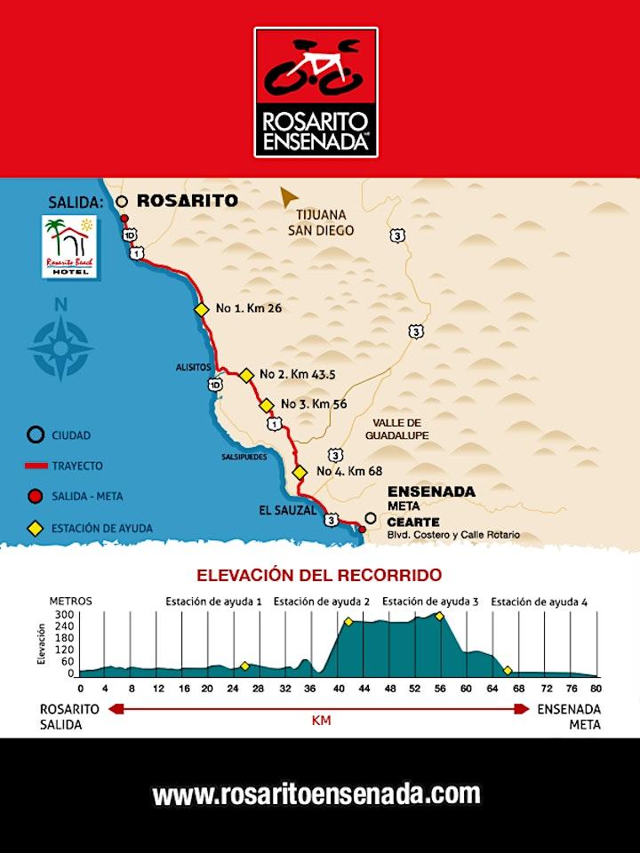Imagen de Paseo Ciclista ROSARITO ENSENADA 2021