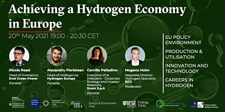 Achieving a Hydrogen Economy in Europe tickets
