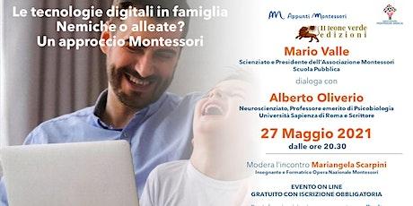 Le tecnologie digitali in famiglia. Un approccio Montessori biglietti