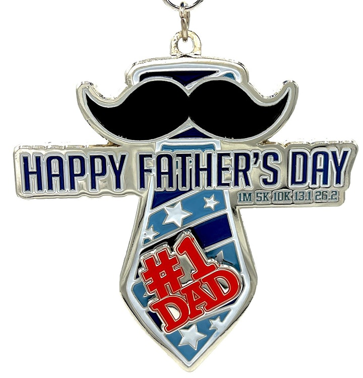 Father's Day 1M 5K 10K 13.1 26.2-Participate from Home. Save $5! image