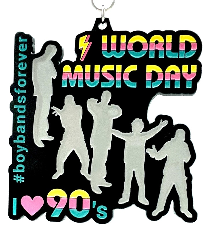 2021  World Music Day 1M 5K 10K 13.1 26.2-Participate from Home. Save $5! image
